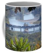 Train On The Mississippi Coffee Mug