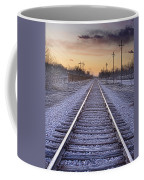 Train Tracks And Color 2 Coffee Mug