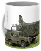Transmission Troops Of The Belgian Army Coffee Mug