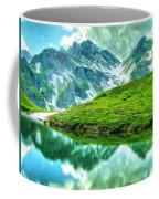 Travelers Rest Swiss Alps Coffee Mug