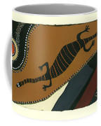 Traveling Goanna Coffee Mug