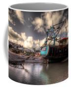 Trawler At New Quay Coffee Mug