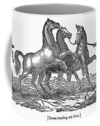 Treading Corn, 1833 Coffee Mug by Granger