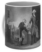 Treason Of Benedict Arnold, 1780 Coffee Mug by Photo Researchers