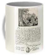 Treaty Between William Penn Coffee Mug