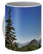 Tree And A Panoramic View Coffee Mug