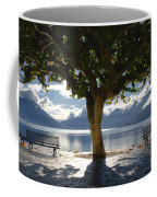 Tree And Benches Coffee Mug
