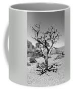Tree At Cedar Ridge Bw Coffee Mug