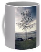 tree at lake Constance Coffee Mug by Joana Kruse
