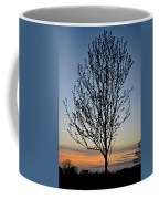 Tree At Sunset Coffee Mug