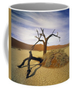 Tree In Desert Coffee Mug