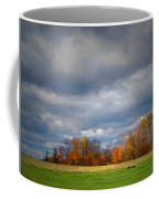 Tree Line On Sunset Hill In New Hampshire Coffee Mug