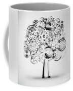 Tree Of Industrial Coffee Mug by Setsiri Silapasuwanchai
