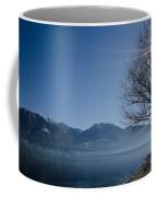 Tree On Lakefront Coffee Mug