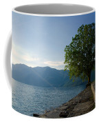 Tree On The Lake Front Coffee Mug