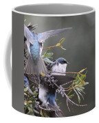 Tree Swallow - Standing Guard Coffee Mug