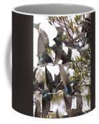 Tree Swallow Frenzy Coffee Mug