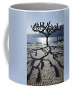 Tree With Shadow Coffee Mug