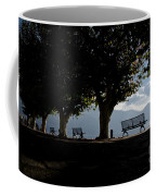 Trees And Benches Coffee Mug