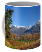 Trees And Mountain Coffee Mug