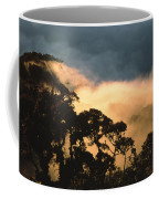 Trees And Mountaintops Above The Clouds Coffee Mug