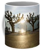 Trees And Sunset Coffee Mug