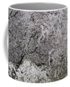 Trees Heavy With Cherry Blossoms Coffee Mug