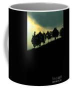 Trees On Ridge Coffee Mug