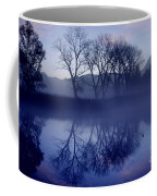 Trees On The Lake Front Coffee Mug