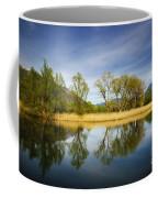 Trees Reflections On The Lake Coffee Mug