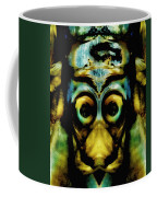 Tribal Mask Coffee Mug
