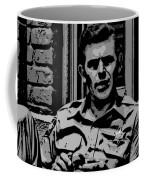 Tribute To Andy Coffee Mug by George Pedro