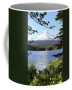 Trillium Lake At Mt. Hood Coffee Mug
