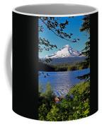 Trillium Lake At Mt. Hood II Coffee Mug