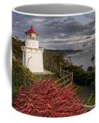 Trinidad Memorial Lighthouse After Storm Coffee Mug