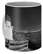 Trinidad Memorial Lighthouse In Black And White Coffee Mug