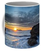 Trinidad Sunset In Autumn Coffee Mug