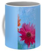 Triptych Gerbera Daisies-two Coffee Mug