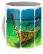 Triptych Longboat Coffee Mug