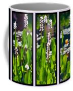 Triptych Of Water Hyacinth Coffee Mug