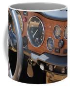 Triumph Tr 6 Dashboard Coffee Mug