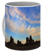 Trona Pinnacles At Sunset Coffee Mug