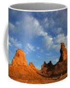 Trona Pinnacles Golden Hour Coffee Mug