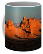 Trona Pinnacles Panorama Coffee Mug by Bob Christopher