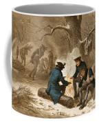 Troops At Valley Forge Coffee Mug