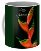 Tropical Holiday Card Coffee Mug