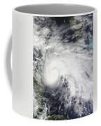 Tropical Storm Ida In The Caribbean Sea Coffee Mug