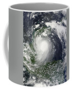Tropical Storm Karl Over The Yucatan Coffee Mug