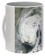 Tropical Storm Muifa Over China Coffee Mug