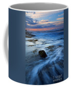 Tropical Sunrise Swirl Coffee Mug